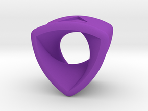 Stretch Rotor 14  By Jielt Gregoire in Purple Processed Versatile Plastic