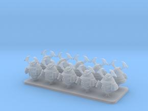 Cyber Samurai V10 Primus Samurai Helmets in Smooth Fine Detail Plastic