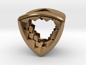 Stretch Diamond 14 By Jielt Gregoire in Natural Brass