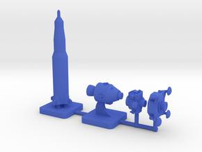 Custom Mini Apollo Program, 4-set in Blue Processed Versatile Plastic