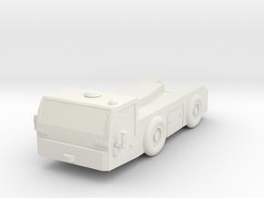 GSE SCHOPF F396C Airport Tug 1/87 in White Natural Versatile Plastic