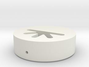 Y3 - Neopixelholder TCSS/JQ - (Part 4/4) B in White Natural Versatile Plastic