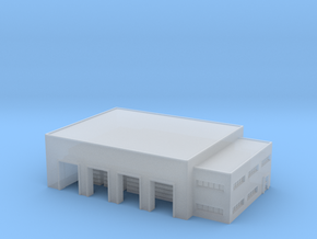 1:700 warehouse+office in Smooth Fine Detail Plastic