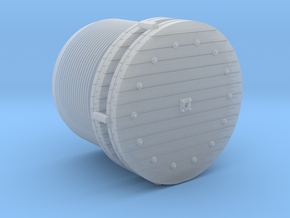 Wire Rope Reels 1-87 HO Scale in Smooth Fine Detail Plastic