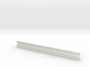 balustrade square in White Natural Versatile Plastic