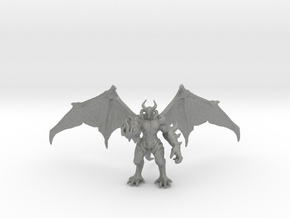 Demon Lord 1/60 miniature fantasy games DnD rpg in Gray PA12