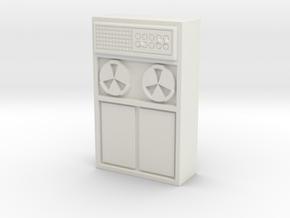 Old Computer Bank 1/64 in White Natural Versatile Plastic