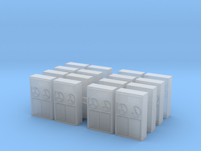 Old Computer Bank (x16) 1/200 in Smooth Fine Detail Plastic