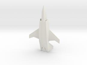 Boeing Loyal Wingman UCAV/Airpower Teaming System in White Natural Versatile Plastic: 6mm