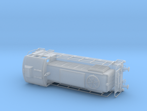 1/87th (H0) scale M-44 diesel engine in Smooth Fine Detail Plastic
