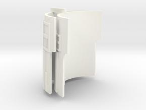 PRHI Star Wars Kenner Astromech 3D Details in White Processed Versatile Plastic
