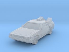 BackTTF DeLorean DMC  in Smoothest Fine Detail Plastic: 1:100