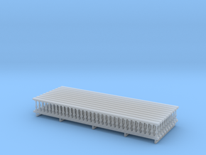 Baluster 01. HO Scale (1:87)  x10 units  in Smooth Fine Detail Plastic