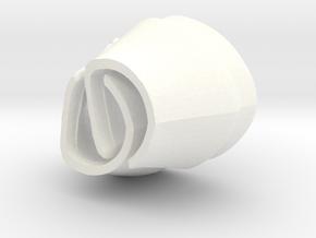 Venomor Bracers VINTAGE in White Processed Versatile Plastic