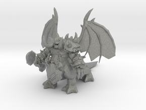Mannoroth Pit Lord miniature fantasy games DnD rpg in Gray PA12
