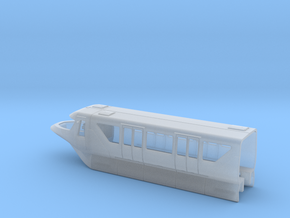Monorail Bombardier Mark VI Cab Body N 1:160 in Smooth Fine Detail Plastic