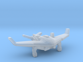 Fallout 4 Stingray fighter in Smooth Fine Detail Plastic