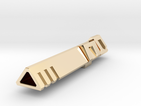 Co-Captain's Cannon (IDW Megatron's Cannon) in 14K Yellow Gold
