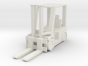 Hyster H60 Forklift USN 1/56 in White Natural Versatile Plastic