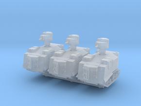 NI Odessa Tank (x3) 1/220 in Smooth Fine Detail Plastic