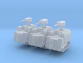 NI Odessa Type 2 Tank (x3) 1/200 in Smooth Fine Detail Plastic