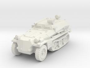 Sdkfz 253 Propaganda 1/120 in White Natural Versatile Plastic