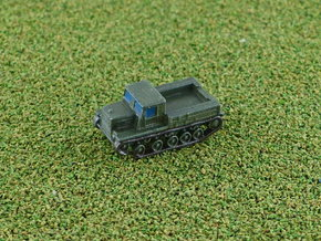 Russian Ia-12 Full Tracked Tractor 1/285 6mm in Smooth Fine Detail Plastic