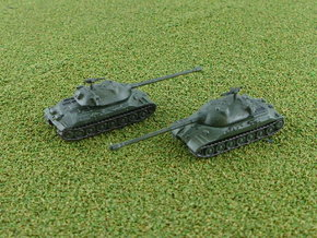 Russian IS-7 Heavy Tank 1/285  in Smooth Fine Detail Plastic
