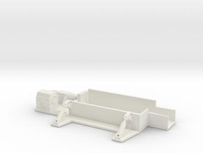 Car Crusher 1/144 in White Natural Versatile Plastic