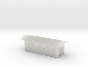 YsteC B2 29-30 Gehäuse 1:160 in Smooth Fine Detail Plastic: 1:160 - N