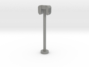 Drive-In Speaker & Stand - 1:32 (with base) in Gray PA12