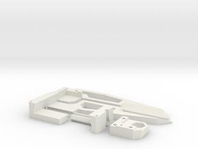 Mk2H - Large Caliper - Yard/Meter Stick Attachment in White Natural Versatile Plastic