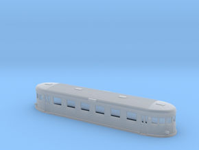 Swedish wagon for railcar UCo6 N-scale in Smooth Fine Detail Plastic