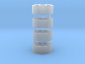 Reifen für Umschlagbagger in Smooth Fine Detail Plastic