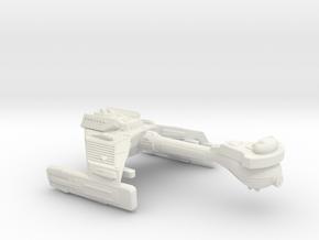 3788 Scale Klingon X-Ship F5XK Frigate WEM in White Natural Versatile Plastic