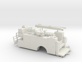 1/50th Gold Rush Service Truck Body in White Natural Versatile Plastic