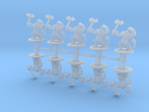 Fimirs 6mm Infantry Epic fantasy miniature models in Smooth Fine Detail Plastic