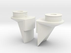 1/96 IJN Yamato Bridge Structure Part 2b SET in White Natural Versatile Plastic
