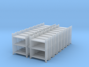Warehouse Rack (x16) 1/285 in Smooth Fine Detail Plastic
