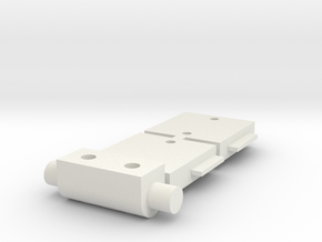 Tamiya Hotshot E parts 1, 9, & 10 in White Natural Versatile Plastic