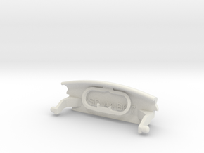 Audi A4 B6 armrest lid with spring pure/IMAGE in White Natural Versatile Plastic