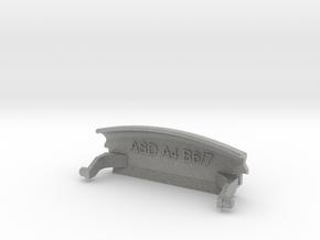Audi A4 B6 Mittelarmlehne/Armrest lid Standart/IMA in Metallic Plastic