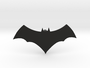 Batman Logo | CCBS Scale in Black Natural Versatile Plastic