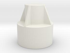 Domlagerabdeckung für Dacia Duster1 PH2 in White Natural Versatile Plastic