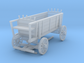 Carolean Supply Wagon in Smooth Fine Detail Plastic: 1:56