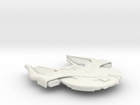 3788 Scale Andromedan X-Ship X-Conquistador SRZ in White Natural Versatile Plastic