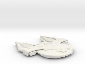 3788 Scale Andromedan Krait Cruiser (KRA) SRZ in White Natural Versatile Plastic