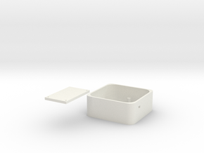 Longboard Control Box in White Natural Versatile Plastic