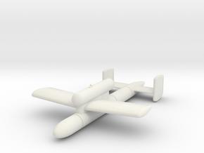 (1:72) Kawasaki Ki-147 I-Go-1A in White Natural Versatile Plastic