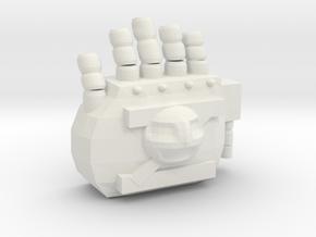 Right Hand in White Natural Versatile Plastic